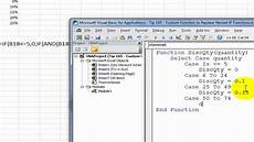 Create A Function In Excel Create A Custom Excel Function To Replace Nested If