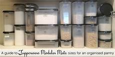 Modular Mates Chart A Guide To Sizes Of Tupperware Modular Mate Containers For