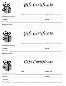 Gift Certificates Blanks Gift Certificate Pdf Form Get Online Blank To Fill Out