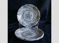 Arcopal France Blue and White Honorine Dinnerware Salad