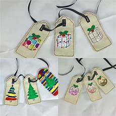 4x4 in the hoop gift tags machine embroidery