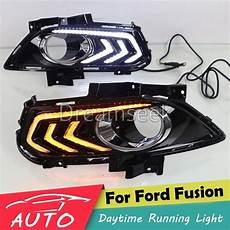 2015 Ford Fusion Light Assembly Drl For Ford Fusion Mondeo 2013 2014 2015 Led Car Daytime