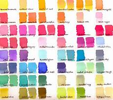 Ink Color Chart Little Art Cottage Distress Ink And Distress Oxide Ink