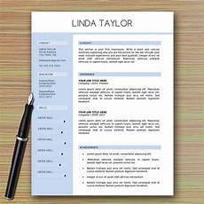 Modern Professional Resume Template Professional Modern Resume Template For Microsoft Word