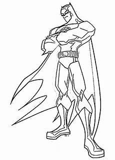 batman coloring page dr
