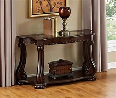 crown cherry wood sofa table the home