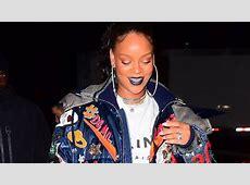 Rihanna Has a Gigantic Sparkling Ring on Her Wedding