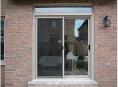 North Star sliding patio    Review of Brock Doors And