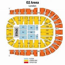 Floor Plan O2 Arena Adam Lambert Hospitality At The O2 Arena