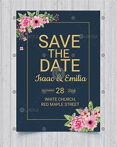 Save The Date Card Design Save The Date Invitation Card Design Wedding Template