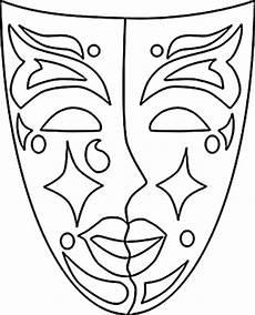 Malvorlage Karneval Maske Ausmalbilder Maske Kostenlos Malvorlagen Zum Ausdrucken
