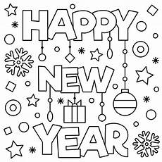 new year january coloring pages printable to help