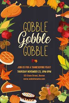 thanksgiving cards word template customize 2 110 thanksgiving templates postermywall
