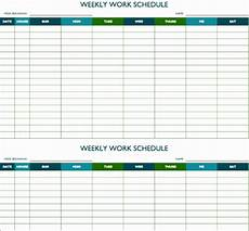 Management Schedule Template 12 Study Schedule Template Excel Exceltemplates