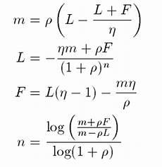 Amortization Math Formula Amortization Formula Math Of Investment
