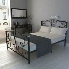 panana luxury finials metal bed frame 4ft6