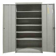 hon used 72 inch storage cabinet light gray national
