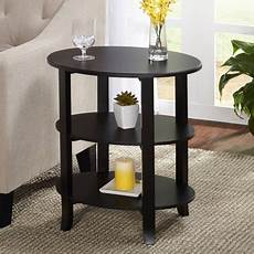 3 tier oval end table finishes walmart