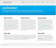 Basic Php Website Template Basic Website Templates Shatterlion Info