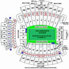 South Carolina Gamecock Football Stadium Seating Chart South Carolina Gamecocks 2014 Football Schedule