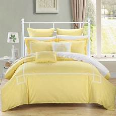 chic home woodford comforter set in yellow bed bath beyond