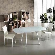vetro tavolo tavolo da pranzo allungabile con top in vetro japan new