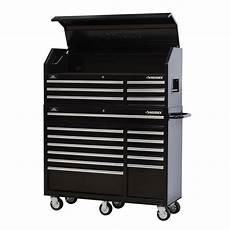 husky 52in 18 drawer tool chest and rolling cabinet combo