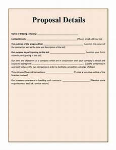 Free Sample Proposal Template Ingo Written Sample Proposal Documents Pdf