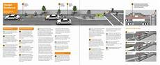 Cycle Track Design One Way Protected Cycle Tracks National Association Of