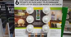 Capstone Led Puck Lights 6 Pack With Remote Control Capstone Led Puck Lights 6 Pack Costco Weekender