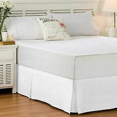 fitted bed skirt staple fiber hotel quality