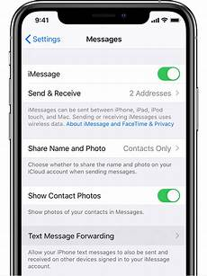 Emails To Text Messages How To Forward Sms Mms Text Messages From Your Iphone To