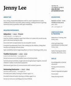 How To Write Babysitting On Resume How To Write A Babysitter Resume That Will Get You The Job