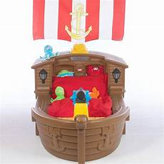 tikes pirate ship toddler bed 420 9900 ojcommerce