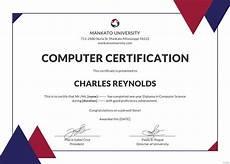 Diploma Samples Certificates Free Computer Diploma Certificate Template In Adobe