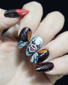 Cool Halloween Designs Nails 12 Scarily Stunning Halloween Nail Designs Sonailicious