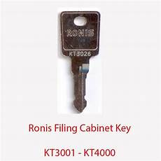 ronis replacement filing cabinet key kt3001 kt4000 ebay