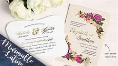 invitaciones de boda asmr play tienda de invitaciones para boda espa 241 ol