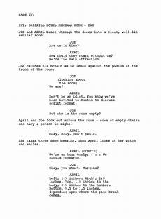 Sample Screenplay Unit 11 Scriptwriting For Media Products March 2015