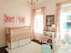 pink mint and gold nursery project nursery