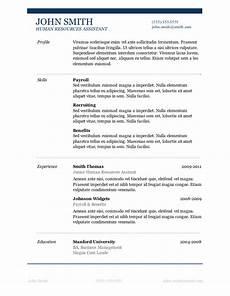 Microsoft Resume Templates Word 50 Free Microsoft Word Resume Templates For Download