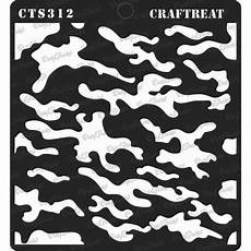 Free Printable Camo Stencils Buy Craftreat Stencil Camouflage Online In India Cts312