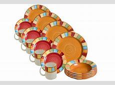 Serape 16 piece Dinnerware Set = 4 place settings with
