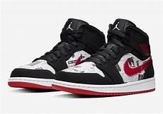Designer Of Air Jordan 1 Preview Air Jordan 1 Mid Se Newspaper Le Site De La Sneaker