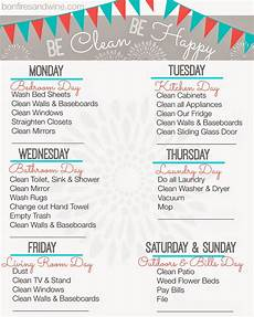 Cleaning House Schedule Chart Pin By Natty Noodles On Home Weekly Cleaning Cleaning