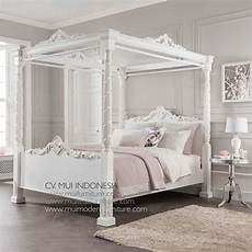 White Bed Canopy Canopy Poster Bed King White Mui Furniture