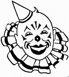 clownskopf 2 ausmalbild malvorlage gemischt