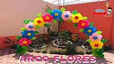 arco de flores muy f 225 cil de hacer globos picolin 40