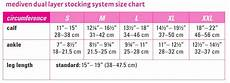 Mediven Compression Size Chart Mediven Dual Layer Compression System Medi Usa