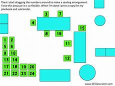 Seating Chart Creator Free How I Make A Seating Chart Clutter Free Classroom